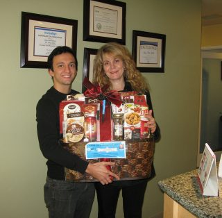 Patients Prize Winning in Dr Amy's Dental Office Thousand Oaks